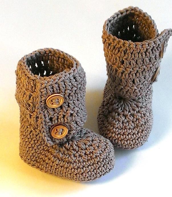 botte bébé crochet